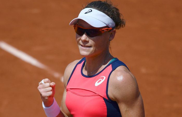Sam Stosur has secured a spot in the third round of Roland Garros. Photo: Getty Images