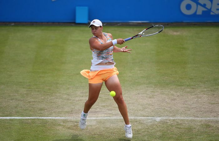 Barty bounced in Nottingham