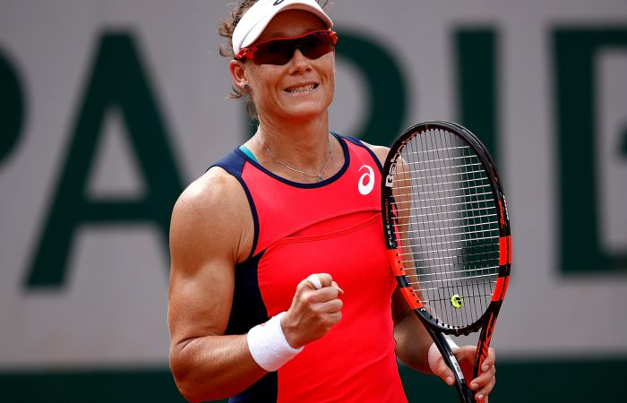 Sam Stosur is feeling confident at Roland Garros 2017; Getty Images