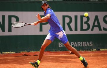 Alexei Popyrin is into the French Open junior boys' singles semifinals; Getty Images