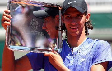 Alexei Popyrin is the French Open 2017 boys' singles champion; Getty Images
