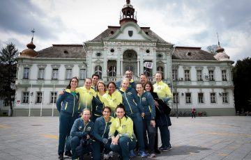 Tennis Tenis Fed Cup World Group II-Play Off Serbia v Australia Official Draw Zrenjanin, 21.04.2017. foto: Srdjan Stevanovic/Starsportphoto ©