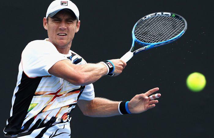 WINNING RUN: Matthew Ebden has powered into the Newport quarterfinals; Getty Images