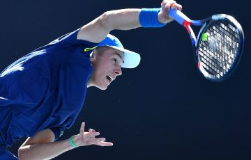 RISING STAR: Alex De Minaur is making giant inroads in his first full season as a professional; Getty Images