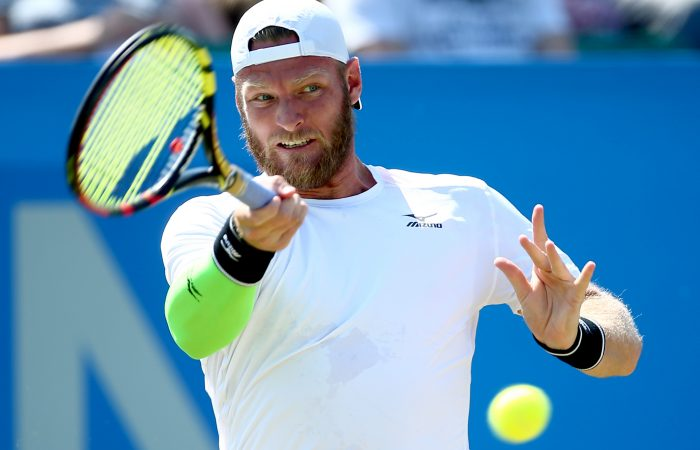 IMPRESSIVE FORM:  Sam Groth has qualified for the ATP tournament in Newport; Getty Images