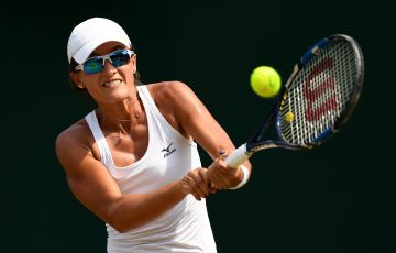 NEW HIGH: Arina Rodionova has set a new career-best ranking after her Wimbledon performance; Getty Images