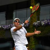 John Peers in action at Wimbledon 2017; Getty Images