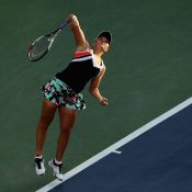 Ash Barty in action at US Open 2017; Getty Images