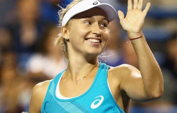Daria Gavrilova could crack the Top 20 if she wins Saturday's final. Photo: Getty Images