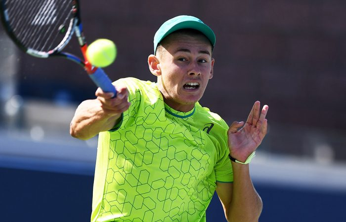 Alex De Minaur at the US Open