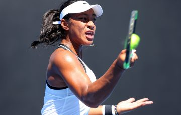 Destanee Aiava has set up a semifinal clash with Arina Rodionova in the US Open wildcard playoff. Photo: Getty Images