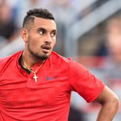 Nick Kyrgios will play John Millman in the opening round of the US Open. Photo: Getty Images