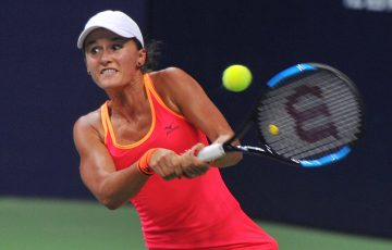 Arina Rodionova will contest the US Open main draw for the first time after winning the Australian women's wildcard play-off in New Haven; Getty Images