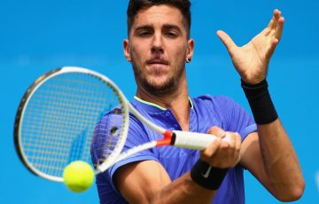 Thanasi Kokkinakis was beaten in his first ATP main draw final. Photo: Getty Images