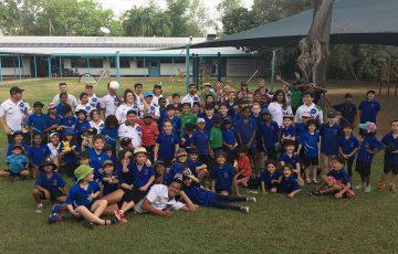 Tennis Australia Camp visits Batchelor, NT