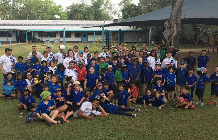 Tennis Australia Camp visits Batchelor, NT