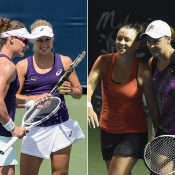 (L-R) Sam Stosur, Daria Gavrilova, Casey Dellacqua and Ash Barty are all flourishing in a fantastic season for Australian women's tennis; Getty Images