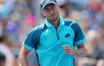 John Millman is looking forward to his third round clash with Philipp Kohlschreiber. Photo: Getty Images