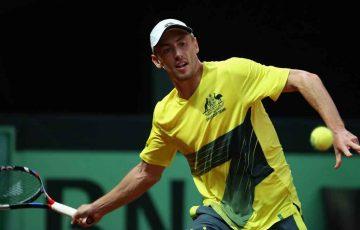 John Millman, Davis Cup, Belgium