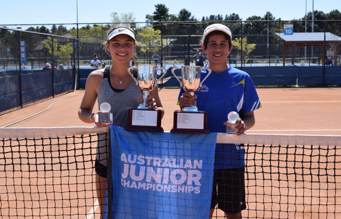 12 Boys and 12 Girls Champion Viaala and Culley