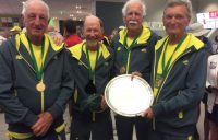 Aussie Super-Seniors claim Gold in the Men's 75+ Bitsy Grant Cup