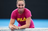 Ash Barty at the launch of Brisbane International 2018; Getty Images