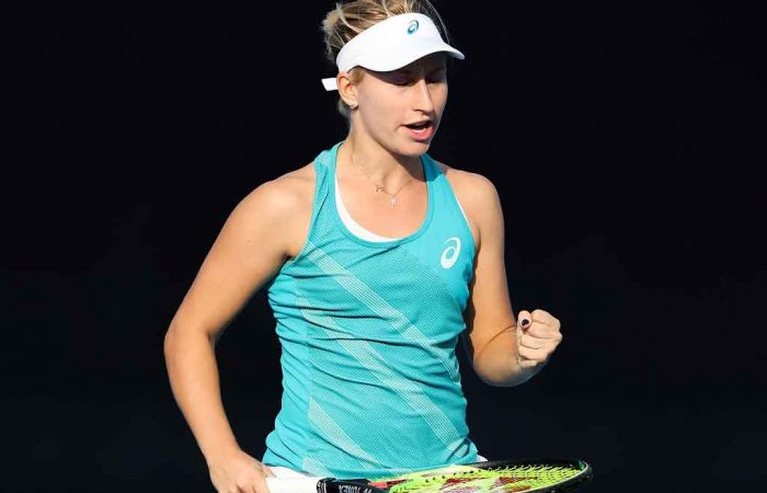 Daria Gavrilova aims to secure a second career title in Hong Kong; Getty Images