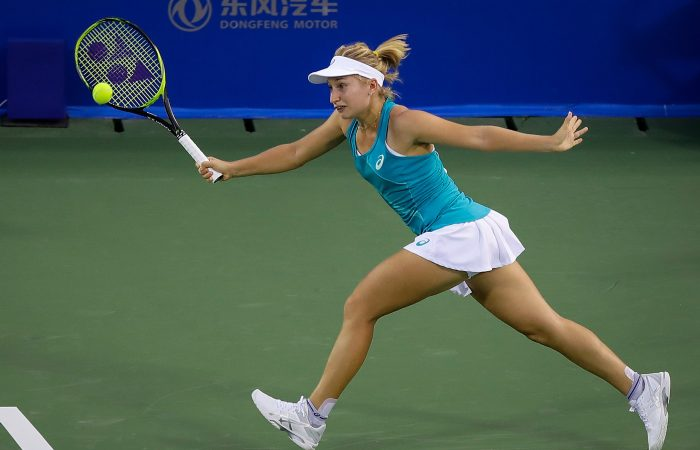 FINDING FORM: Daria Gavrilova is motivated for more success at this week's China Open; Getty Images