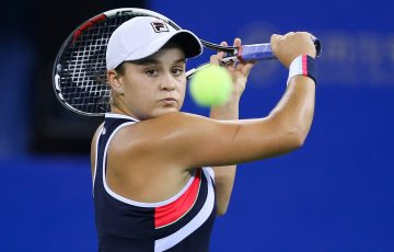IMPRESSIVE WEEK:  Ashleigh Barty is verging on the world's top 20 after reaching the Wuhan final; Getty Images