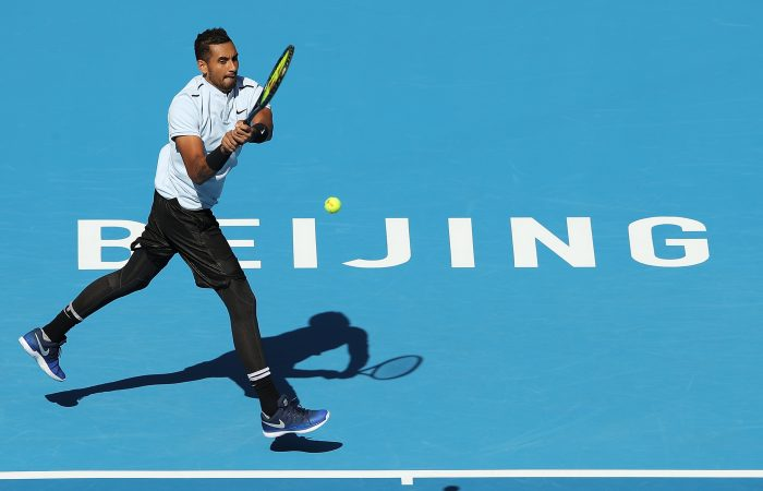 ON FIRE: Nick Kyrgios is into the China Open semifinals; Getty Images