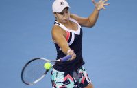 UNDER PRESSURE: Ashleigh Barty in action during her China Open second round loss; Getty Images
