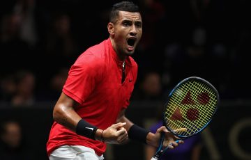 Nick Kyrgios is the eighth seed this week in Beijing; Getty Images