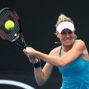 Olivia Rogowska in action during Australian Open 2017 qualifying; Getty Images
