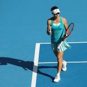 Sam Stosur was a first-round winner at the WTA Hong Kong tournament; Getty Images