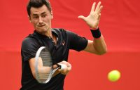 Aussies in action: Tomic heads indoors in Vienna