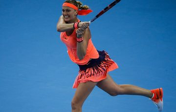 Petra Kvitova will play at the Sydney International in 2018; Getty Images