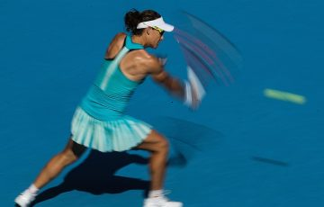 Sam Stosur in action during the China Open in Beijing; Getty Images
