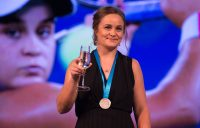 Ashleigh Barty wins the 2017 Newcombe Medal.