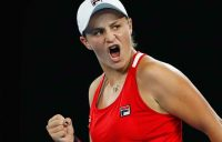 Barty fights past Giorgi firepower