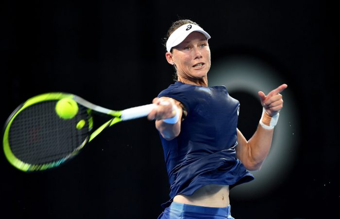 Sam Stosur is excited about the young Australian players heading into the Australian Open. Photo: Getty Images