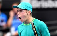 It was another impressive performance for rising star Alex De Minaur; Getty Images