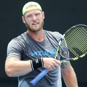 Sam Groth will meet top seed Taylor Fritz in the first round of Australian Open qualifying (Photo by Michael Dodge/Getty Images)