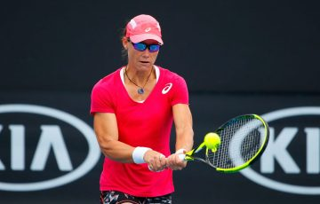 Sam Stosur is striving for a big fortnight at the Australian Open (Photo by Scott Barbour/Getty Images)