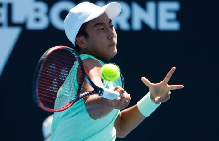 Rinky Hijikata's amazing run at Melbourne Park is over (Photo by Scott Barbour/Getty Images)