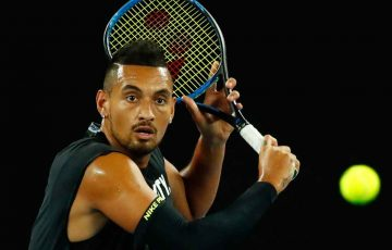 Nick Kyrgios prepares for his home Grand Slam at Melbourne Park.