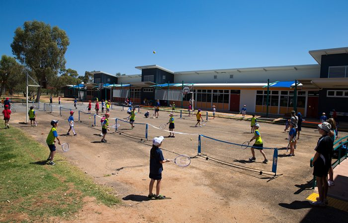 23rd of September 2013. Hot Shots at Ross Park Primary School, Alice Springs, Northern Territory. Mark Riedy.