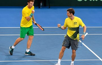 John Peers and Matthew Ebden fought for five sets before Germany claimed the important win; Getty Images