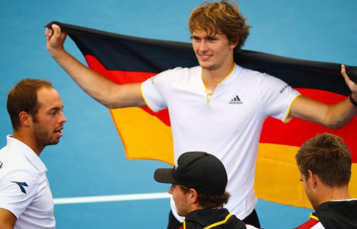 Alexander Zverev secures Germany's win; Getty Images