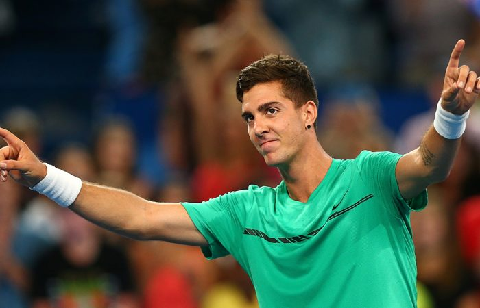 Thanasi Kokkinakis received a wildcard into the ATP event in Acapulco; Getty Images