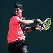 Thanasi Kokkinakis in action at the Miami Open; Getty Images